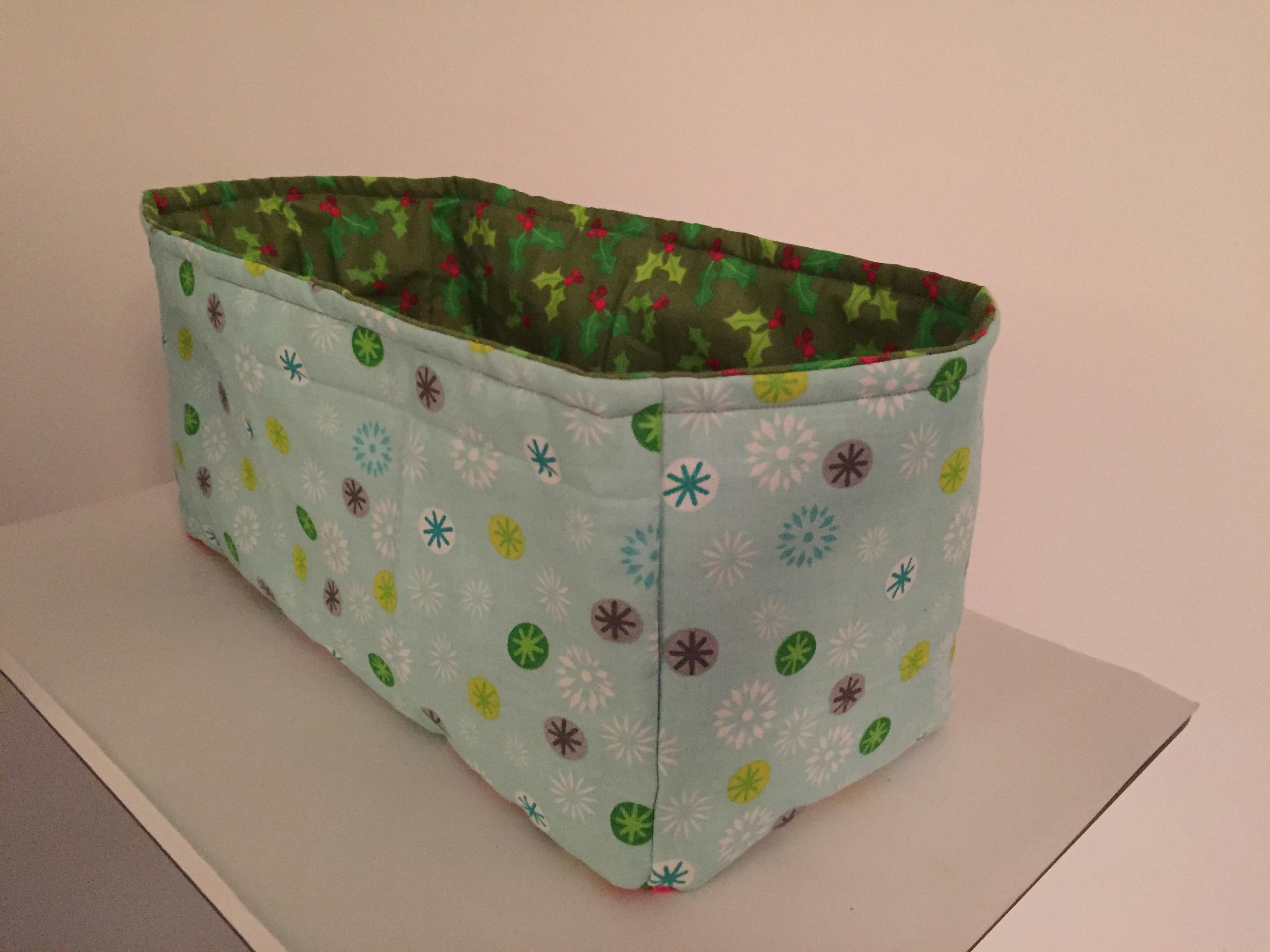 Fabric Storage Boxes Tutorial Hook Stitch Sew