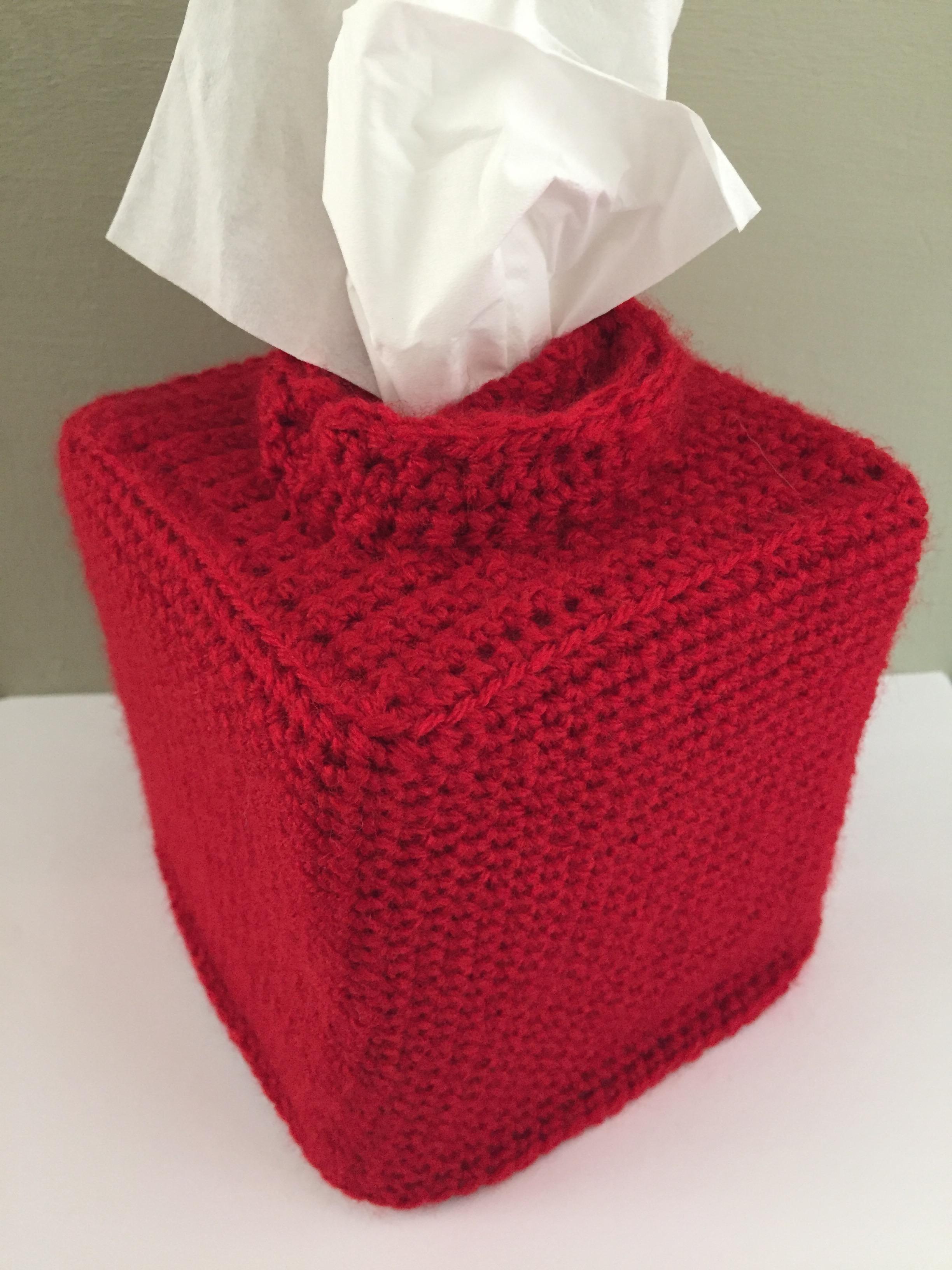 Crochet Lego Tissue Box Cover Hook Stitch Sew