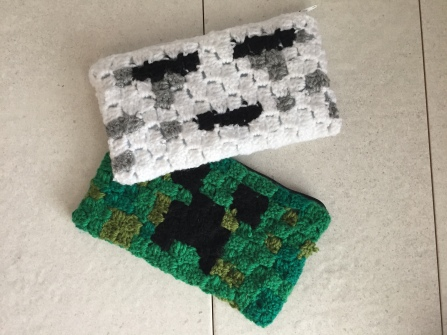 Another Flurry Into Corner To Corner Crochet With These Minecraft